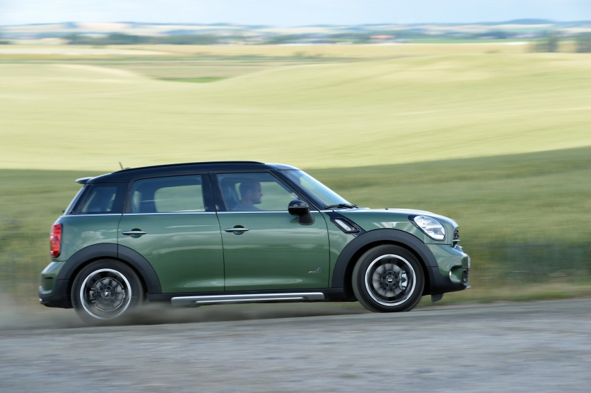 GALLERY: MINI Countryman, Paceman facelift detailed Image #258389