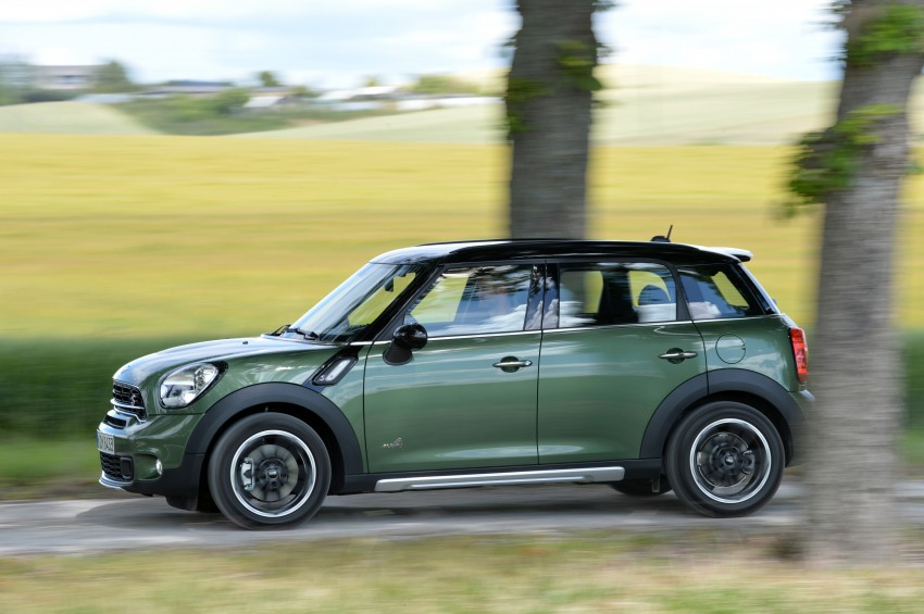 GALLERY: MINI Countryman, Paceman facelift detailed Image #258370