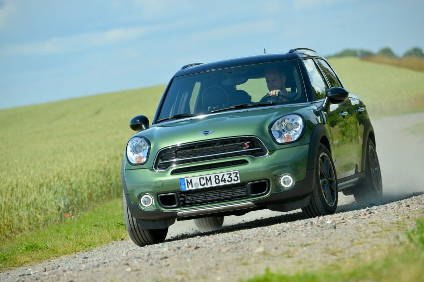 GALLERY: MINI Countryman, Paceman facelift detailed Image #258297