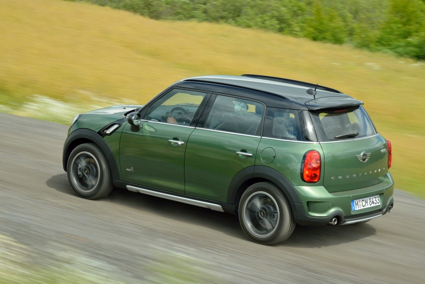 GALLERY: MINI Countryman, Paceman facelift detailed Image #258228