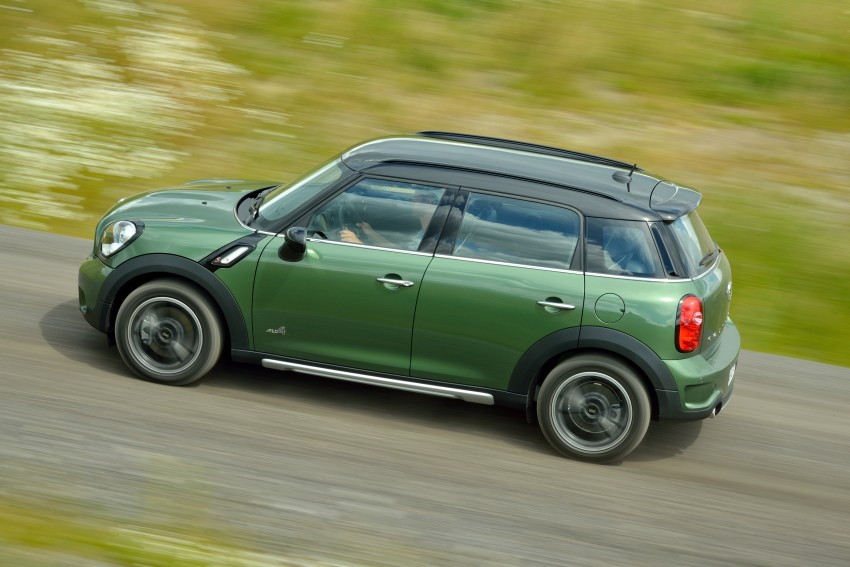 GALLERY: MINI Countryman, Paceman facelift detailed Image #258197