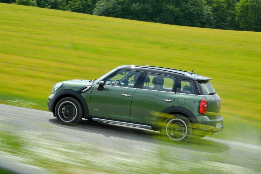 GALLERY: MINI Countryman, Paceman facelift detailed Image #258346