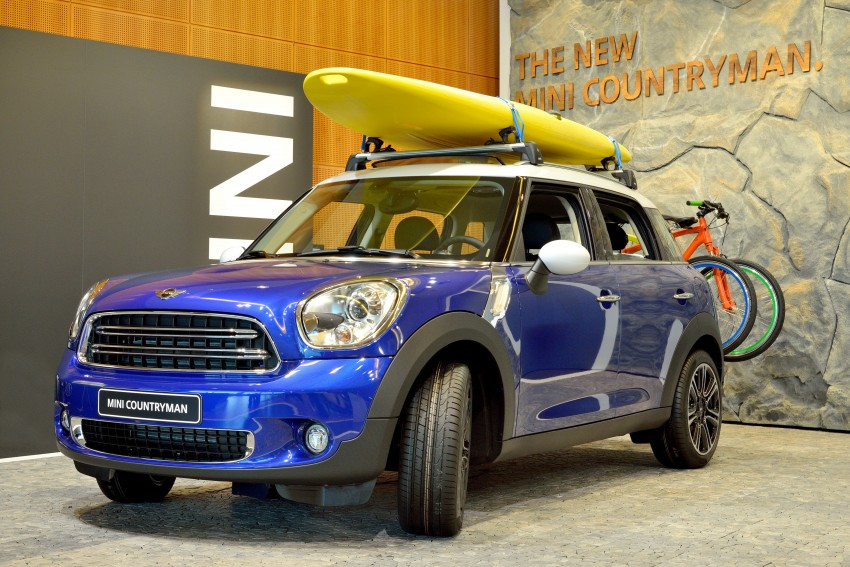 GALLERY: MINI Countryman, Paceman facelift detailed Image #258151