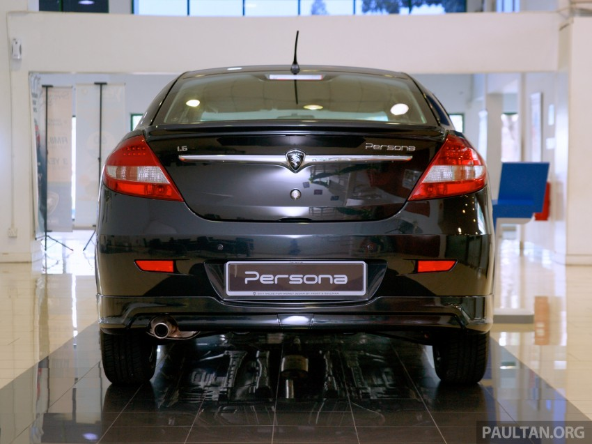 GALLERY: Proton Saga FLX Executive and Proton Persona Executive now in showrooms Image #258813