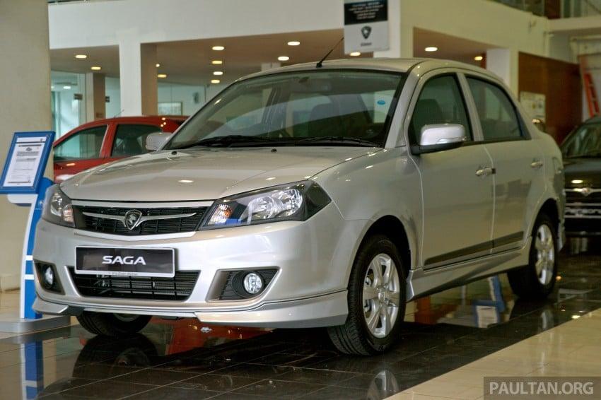GALLERY: Proton Saga FLX Executive and Proton Persona Executive now in showrooms Image #258783