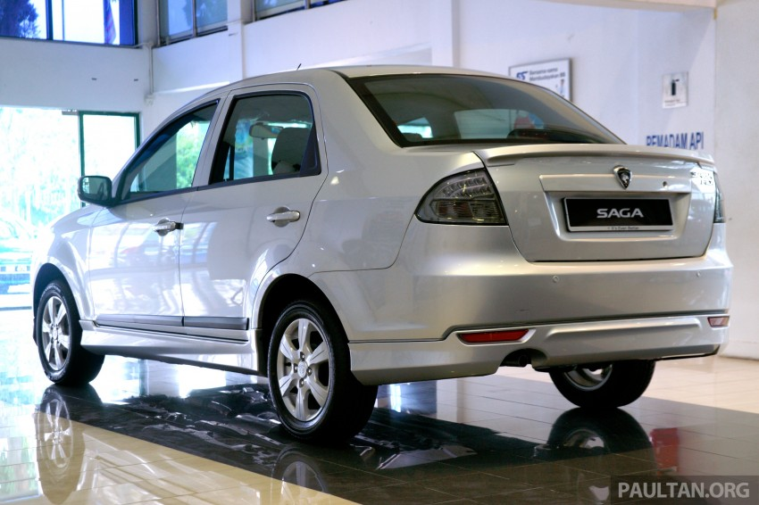 GALLERY: Proton Saga FLX Executive and Proton Persona Executive now in showrooms Image #258786