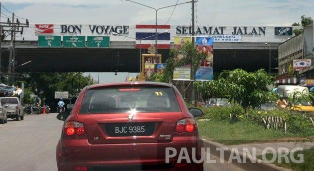 Thailand Sadao Checkpoint