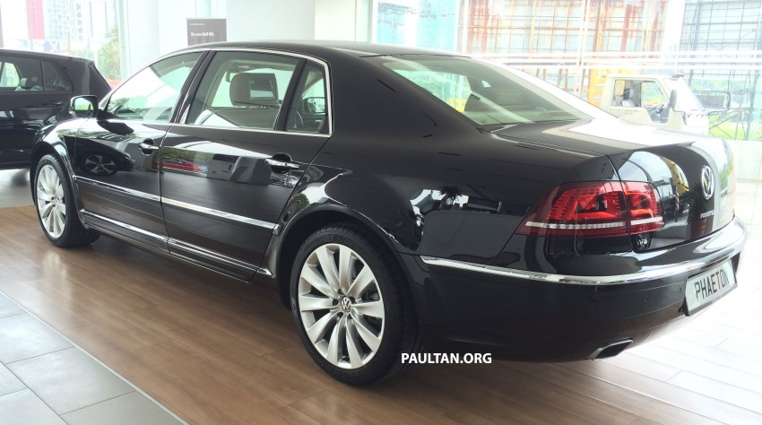Volkswagen Phaeton 4.2 V8 on display at Glenmarie showroom – RM639k after discount Image #260212