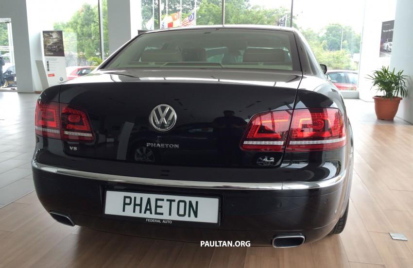 Volkswagen Phaeton 4.2 V8 on display at Glenmarie showroom – RM639k after discount Image #260216