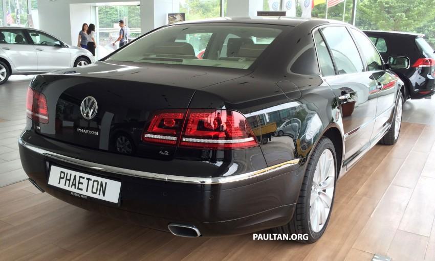Volkswagen Phaeton 4.2 V8 on display at Glenmarie showroom – RM639k after discount Image #260217