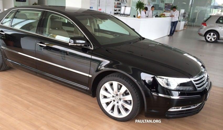 Volkswagen Phaeton 4.2 V8 on display at Glenmarie showroom – RM639k after discount Image #260218