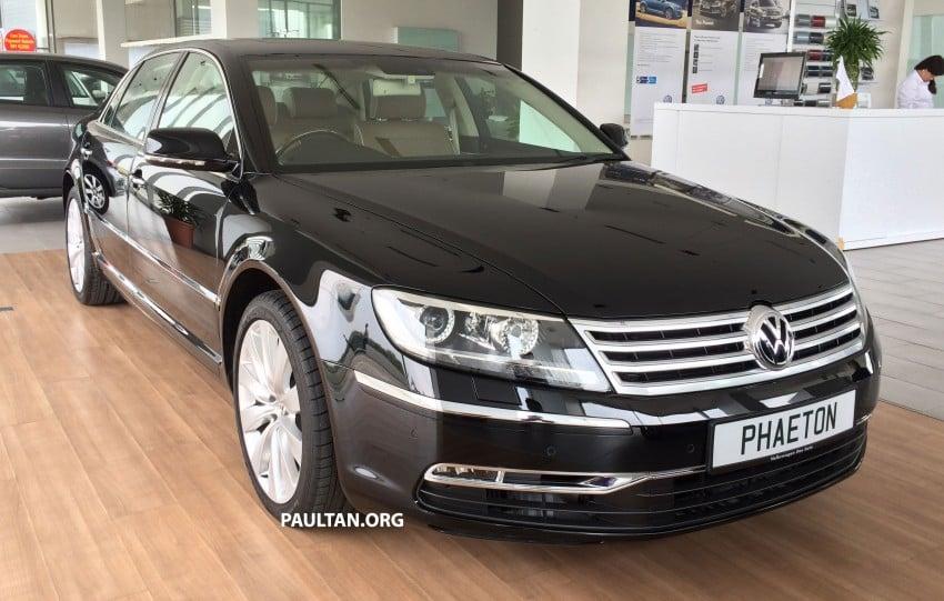 Volkswagen Phaeton 4.2 V8 on display at Glenmarie showroom – RM639k after discount Image #260219
