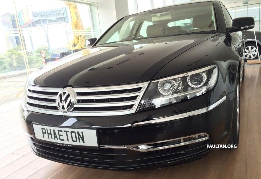 Volkswagen Phaeton 4.2 V8 on display at Glenmarie showroom – RM639k after discount Image #260221