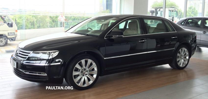 Volkswagen Phaeton 4.2 V8 on display at Glenmarie showroom – RM639k after discount Image #260223