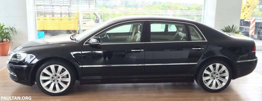 Volkswagen Phaeton 4.2 V8 on display at Glenmarie showroom – RM639k after discount Image #260226