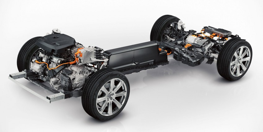 Volvo XC90 – upcoming powertrains detailed, includes T8 plug-in hybrid with 400 hp from four cylinders! Image #257530