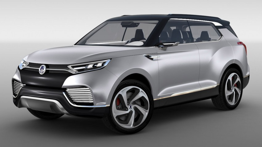 Ssangyong X100 B-segment SUV – production XLV concept to debut new 1.6 litre engine family Image #261264