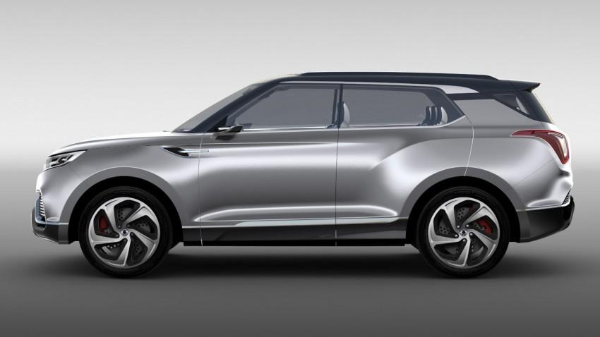 Ssangyong X100 B-segment SUV – production XLV concept to debut new 1.6 litre engine family Image #261279