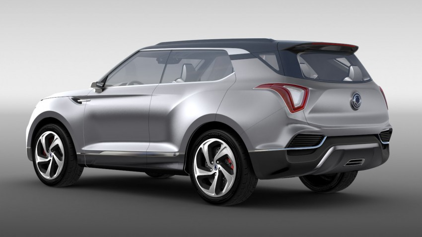 Ssangyong X100 B-segment SUV – production XLV concept to debut new 1.6 litre engine family Image #261278