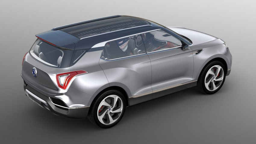 Ssangyong X100 B-segment SUV – production XLV concept to debut new 1.6 litre engine family Image #261277