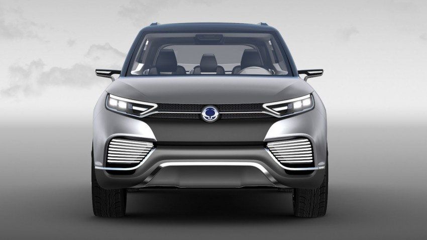 Ssangyong X100 B-segment SUV – production XLV concept to debut new 1.6 litre engine family Image #261276