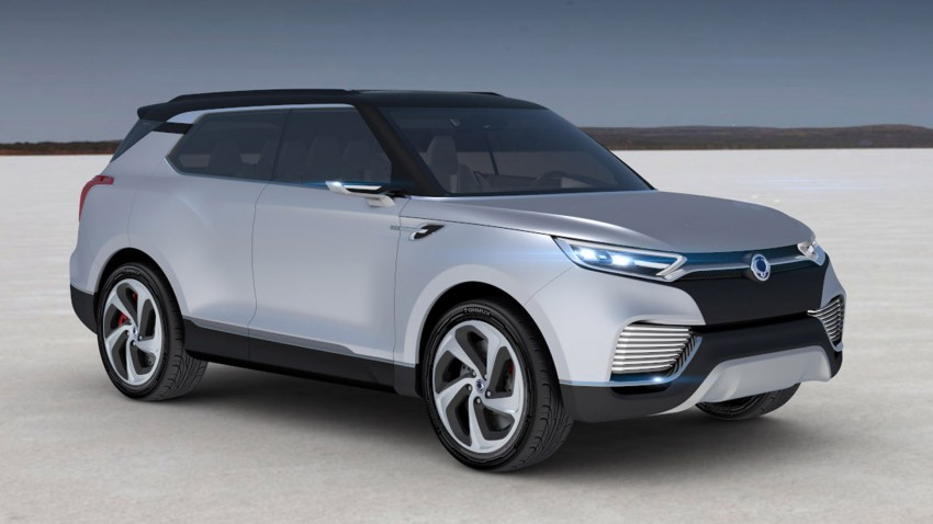 Ssangyong X100 B-segment SUV – production XLV concept to debut new 1.6 litre engine family Image #261282