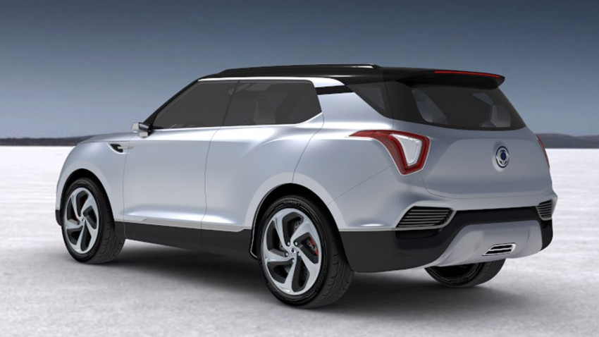 Ssangyong X100 B-segment SUV – production XLV concept to debut new 1.6 litre engine family Image #261281