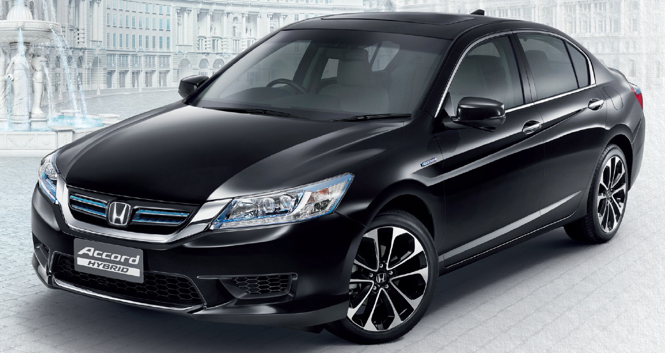 2014 Accord Hybrid >> 2014 Honda Accord Hybrid makes Thai debut, Honda Malaysia studying possible Malaysian launch ...