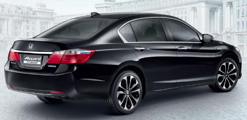 2014 Honda Accord Hybrid makes Thai debut, Honda Malaysia studying possible Malaysian launch Image #256606