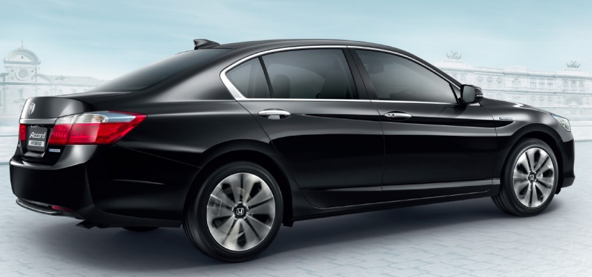 2014 Honda Accord Hybrid makes Thai debut, Honda Malaysia studying possible Malaysian launch Image #256610