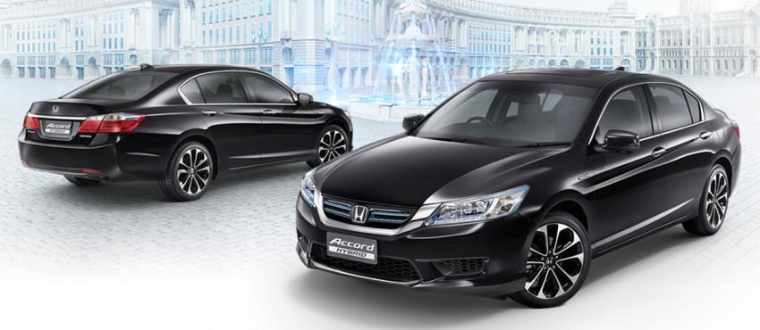 2014 Honda Accord Hybrid makes Thai debut, Honda Malaysia studying possible Malaysian launch Image #256612