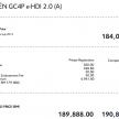 citroen gc4p price