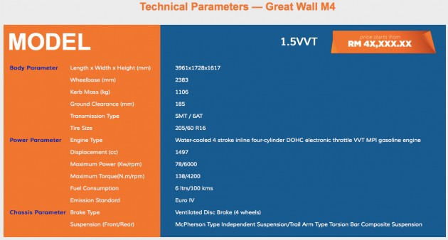 great-wall-m4-specs