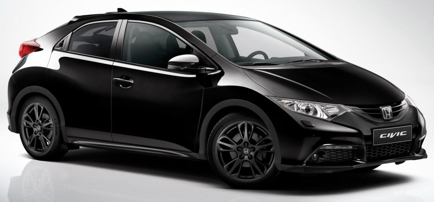 Honda Civic Black Edition introduced in the UK Image #257688