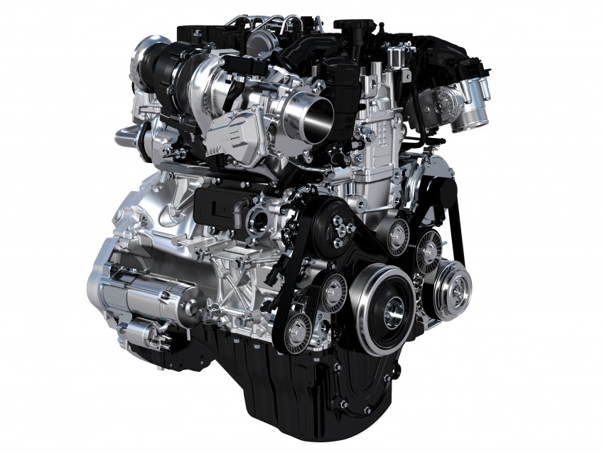 Jaguar Land Rover details new Ingenium engine family – less friction, up to 80 kg lighter than current engines Image #257817