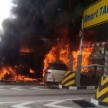 kesas accident fire 2