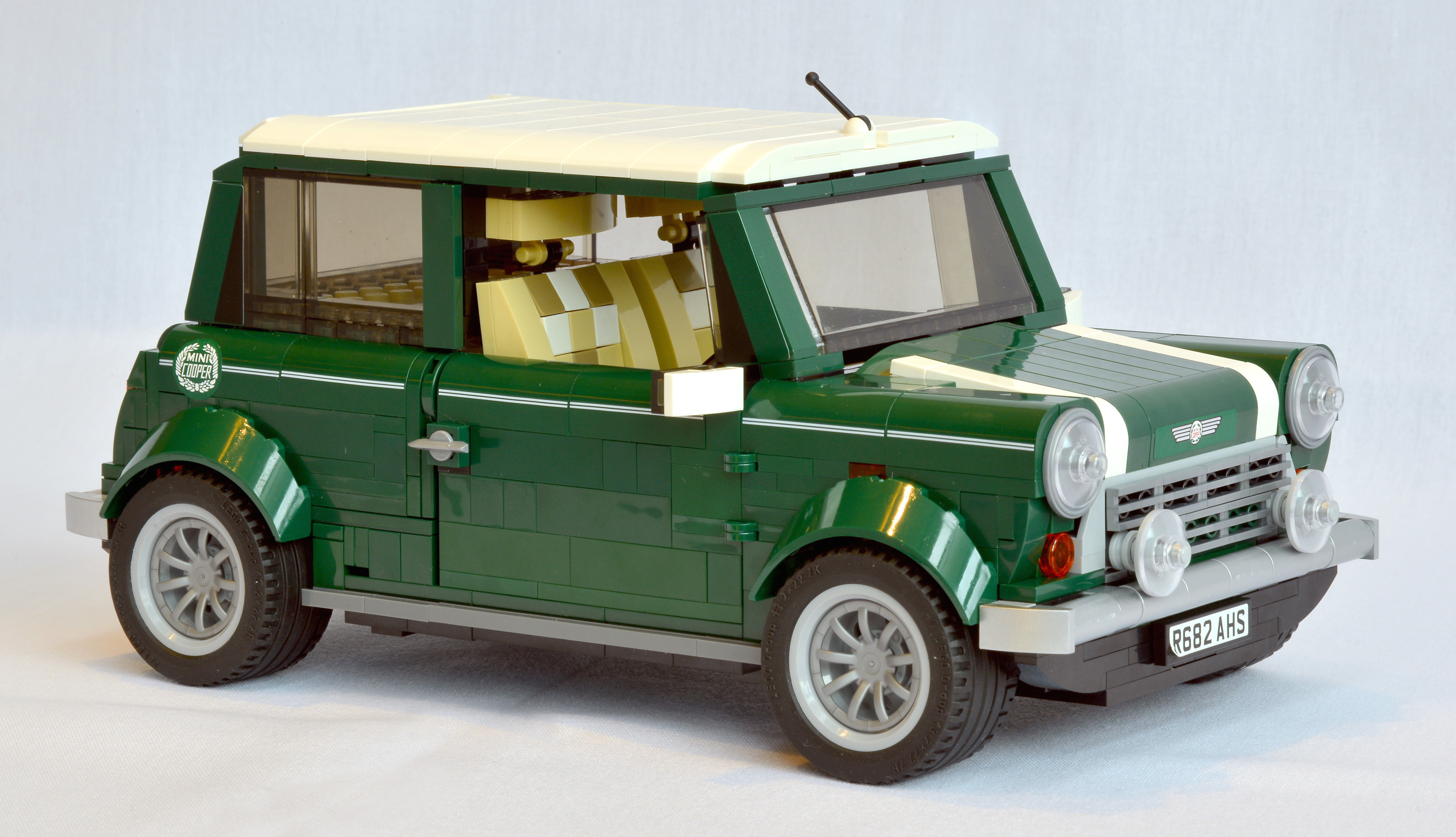 Lego Mini Cooper The Little Classic Goes Plastic