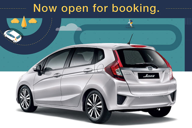 2014 honda jazz open for booking in malaysia 1 5 s 1 5. Black Bedroom Furniture Sets. Home Design Ideas