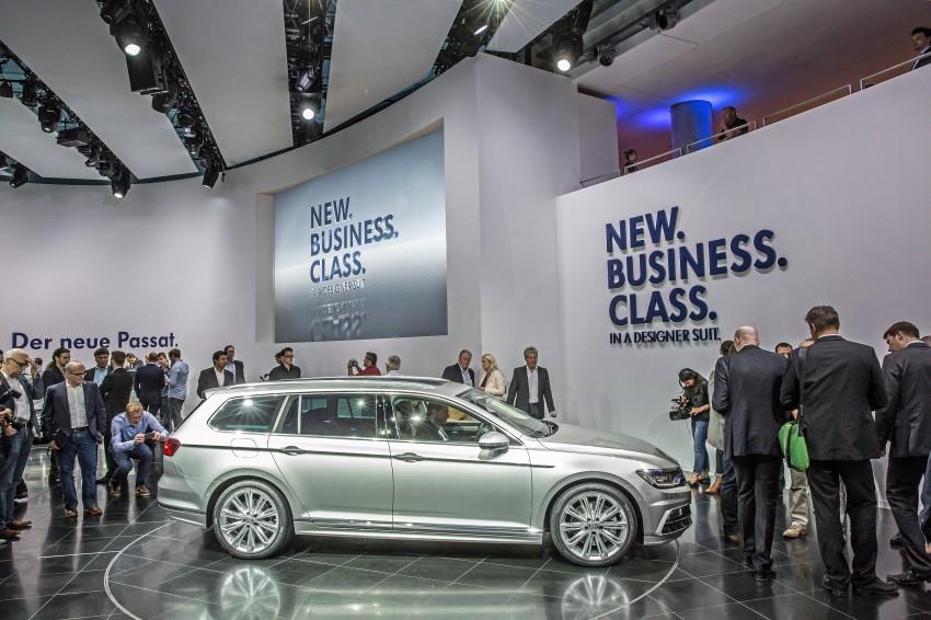 2015 Volkswagen Passat B8 – full details & photos Image #259161