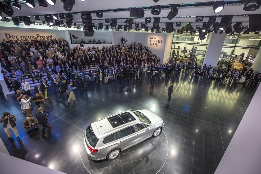 2015 Volkswagen Passat B8 – full details & photos Image #259163
