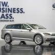 Weltpremiere des neuen Volkswagen Passat in Potsdam