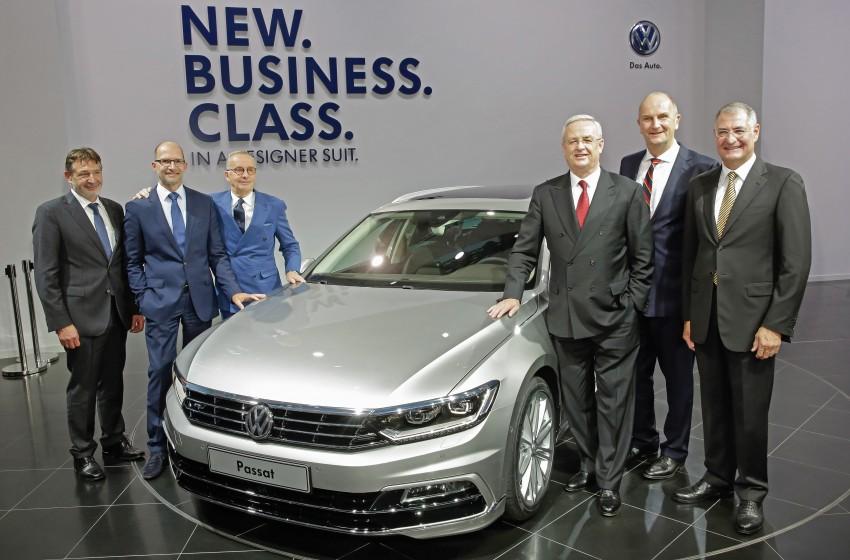 2015 Volkswagen Passat B8 – full details & photos Image #259167