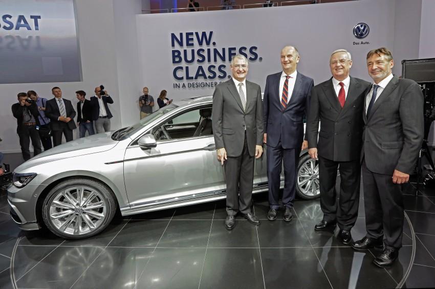 2015 Volkswagen Passat B8 – full details & photos Image #259169