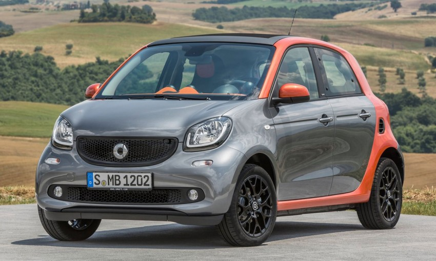 2015 smart fortwo and smart forfour city cars unveiled Image #259509