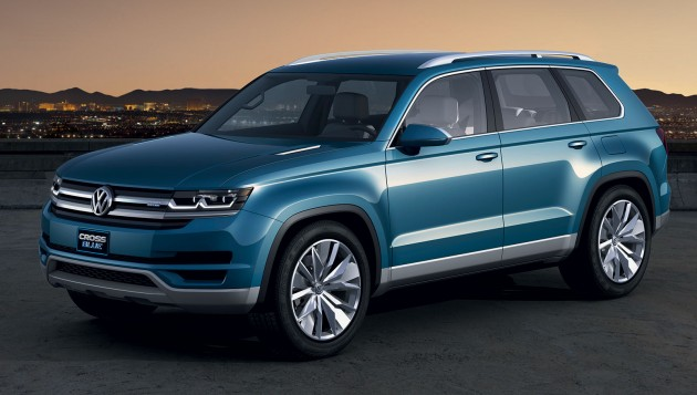Volkswagen To Build 7 Seater Crossblue Suv In Usa