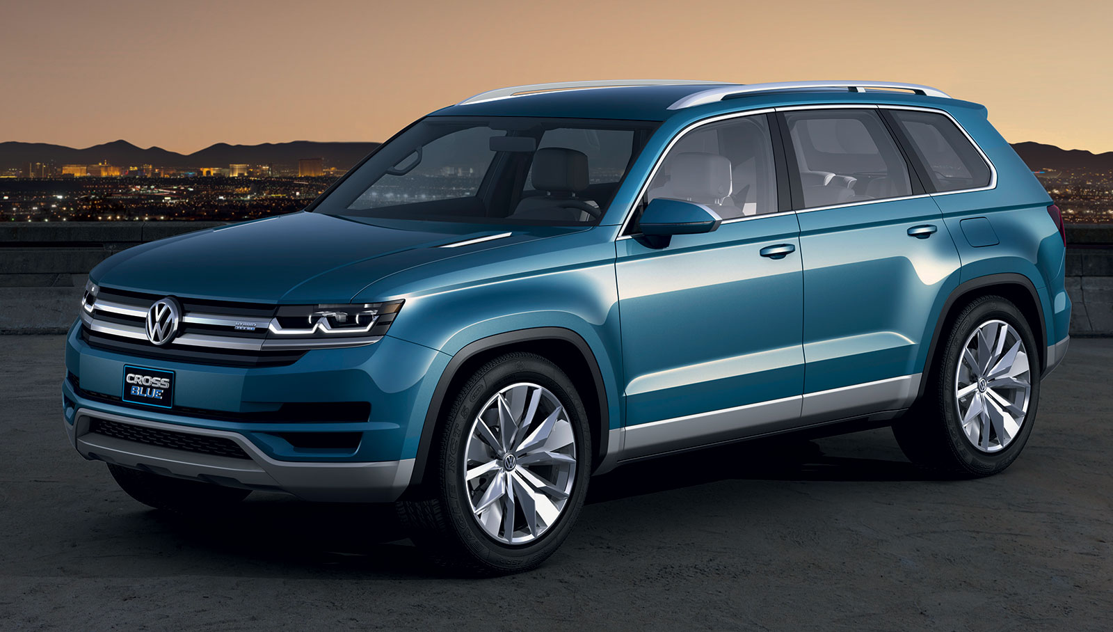 Volkswagen to build 7-seater CrossBlue SUV in USA
