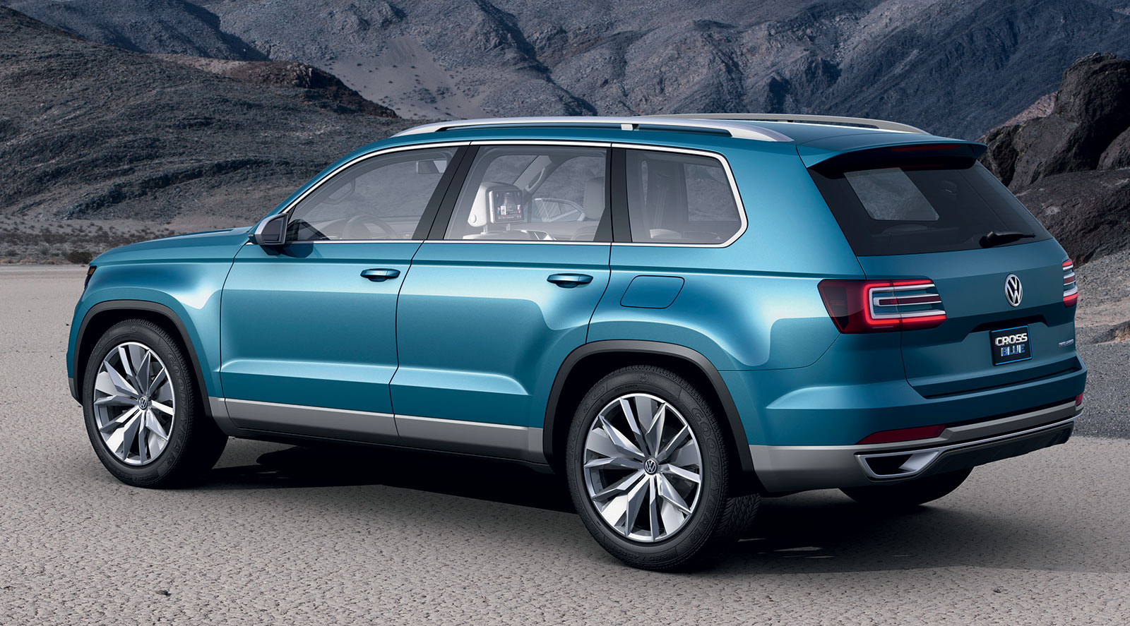 Volkswagen To Build 7 Seater Crossblue Suv In Usa Image 259381