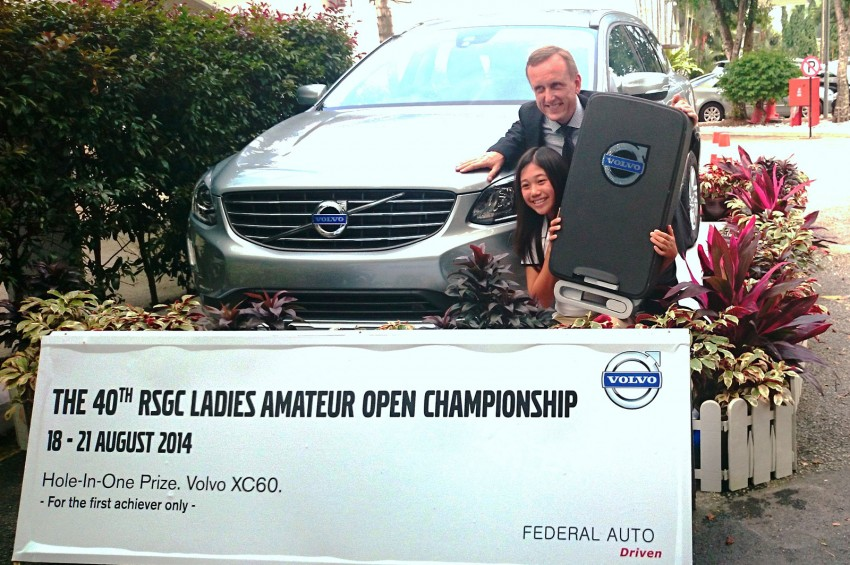 12-year old girl wins new Volvo XC60 with hole-in-one Image #265880