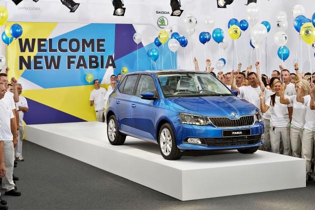 140828 New SKODA Fabia - Start of Production 001