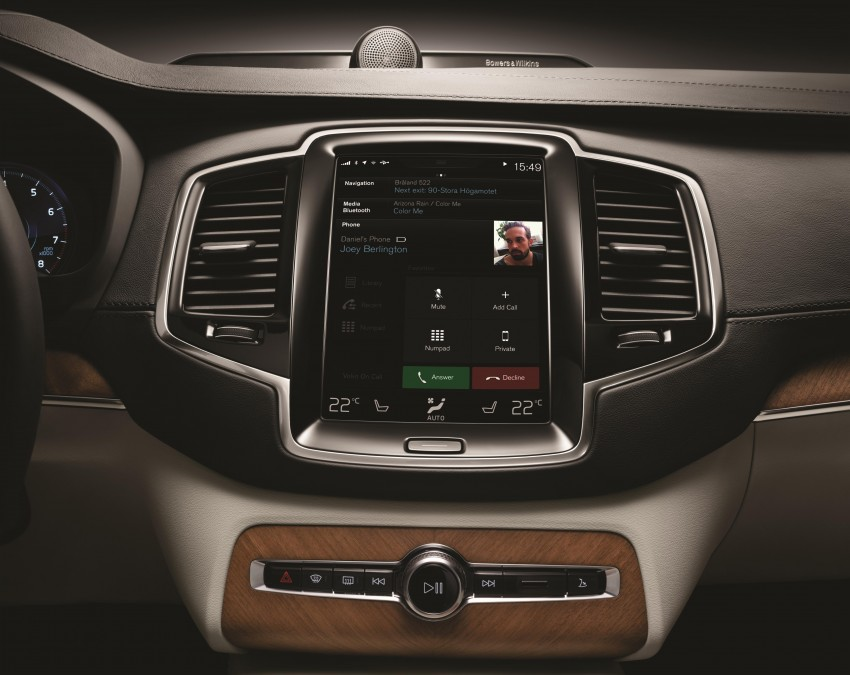 2015 Volvo XC90 – second-gen 7-seat SUV unveiled Image #266258